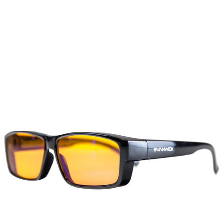 bac7d03501 Swannies Fitover Blue Light Blocking Glasses - Page 1 — QVC.com