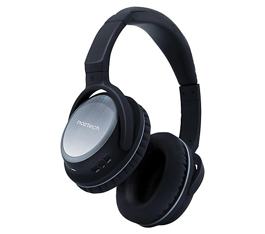 Naztech Xj 500 Wireless Bluetooth Headphones Qvc Com