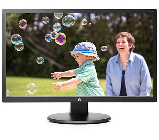 "HP 24UH 24"" LED Backlit LCD Monitor"