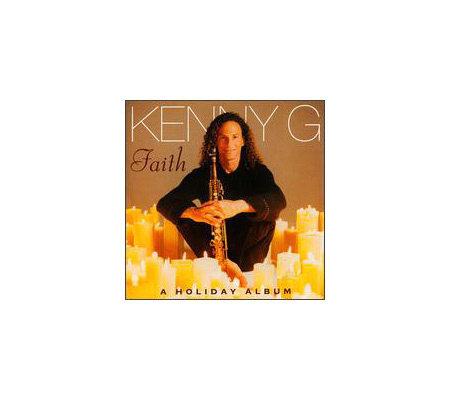 faith a holiday album kenny g cd