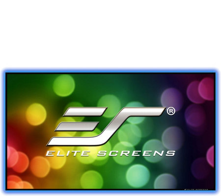 "Elite Screens 100"" Aeon CLR Fixed-Frame Projection Screen"