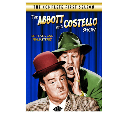 Abbott & Costello Show: The Complete First Season - 4-Disc Se