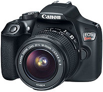Canon EOS Rebel T6 DSLR Camera with 18-55mm Lens - E293849