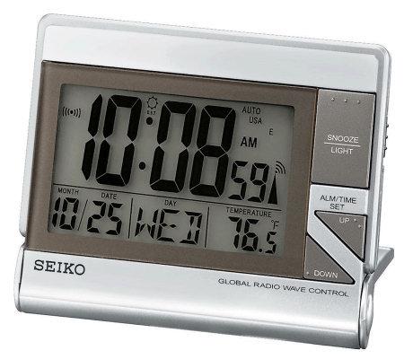 Seiko R Wave Travel Alarm Clock