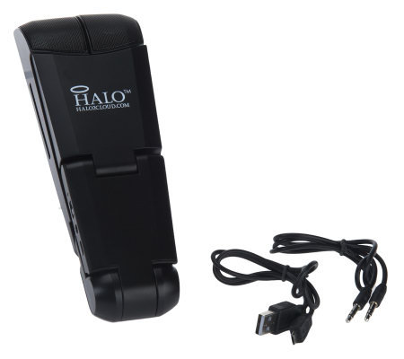 HALO Wireless Pocket Theater Speaker Stand for Tablets & Cell Phones