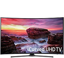 "Samsung 55"" Curved 4K Ultra HD Smart TV with 2 Year Warranty - E231050"