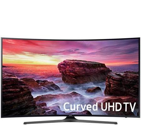 "Samsung 55"" Curved 4K Ultra HD Smart TV with 2 Year Warranty"