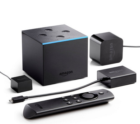 Amazon Fire TV Cube with Hands-Free Alexa & Voucher