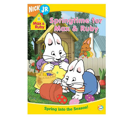 Max & Ruby: Springtime for Max & Ruby DVD