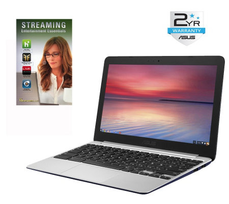 "ASUS 11.6"" Chromebook - Quad Core 4GB RAM 16GBw/ 2-Yr LMW"