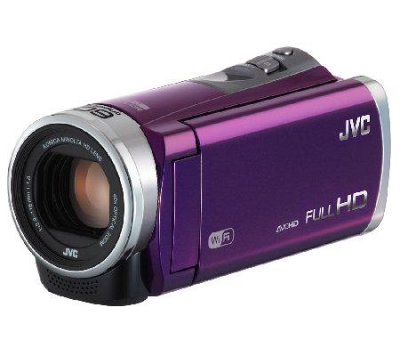 JVC Everio GZ-EX310 1080p Full HD Camcorder w/ Wifi & Case ...