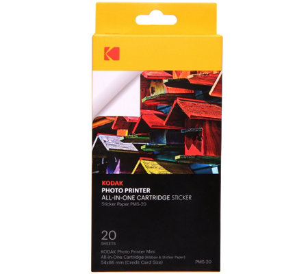 Kodak Mini Photo Printer Cartridge_PMC All-in-One Refill_20 Pack