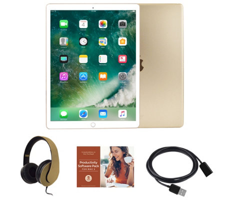 "Apple iPad Pro 10.5"" 64GB Wi-Fi Tablet with Voucher and Accessories"