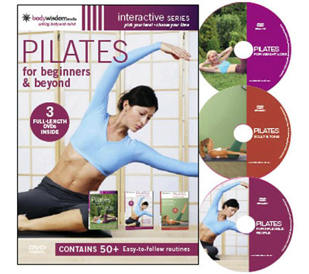 Pilates For Beginners & Beyond - 3 Disc Box Set