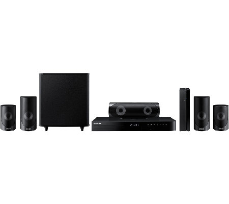 Samsung Smart Home Theater System with 3D Blu-ray & Wi-Fi