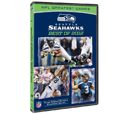 NFL: Greatest Games Set: Seattle Seahawks - Best of 2012