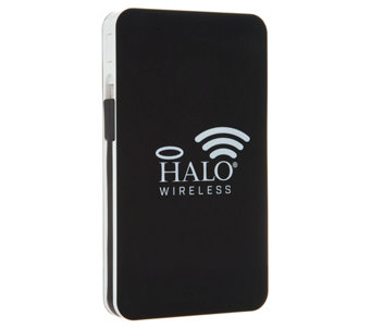 Halo portable power chargers battery chargers qvc halo 8000 wireless portable power charger with 2 usb ports e230053 best seller fandeluxe Image collections