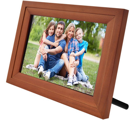 "Wifi 7"" Touchscreen Picture Frame w/ App, Pair up to 7 Devices"