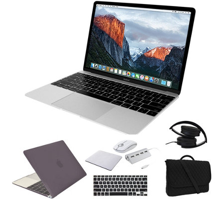 "Apple MacBook 12"" i5, 8GB, 512GB SSD & Accessories - Silver"