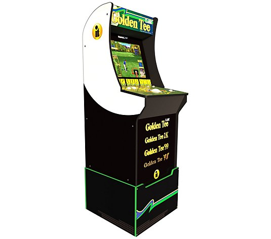 Arcade1Up Golden Tee Home Arcade Machine with Riser
