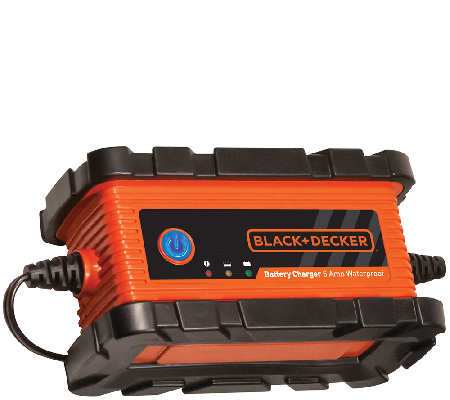 Black & Decker 6 AMP Waterproof Battery Charger/Maintainer