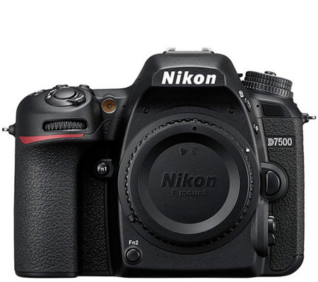 Nikon D7500 DSLR Camera with 18mm - 300mmLens & SD Card