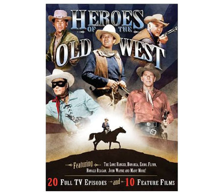 Heroes of the Old West 4-Disc DVD Collection