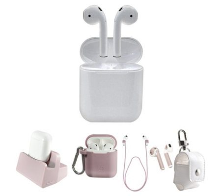 Apple AirPods 2nd Generation w/ Wired Case, Accessories and Voucher