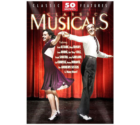 Classic Musicals - 50 Movies - 12-Disc DVD Set