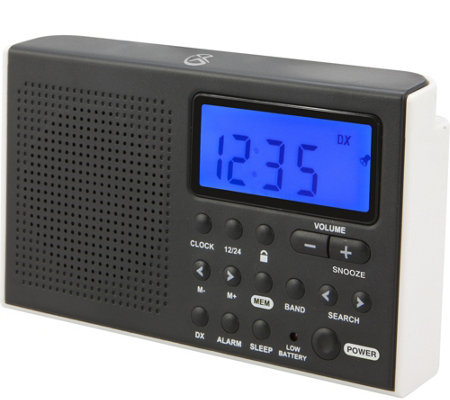 GPX Shortwave AM/FM Radio with LCD Display