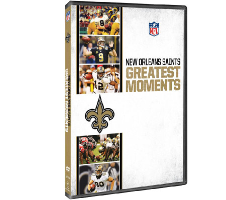NFL Greatest Moments: New Orleans Saints DVD