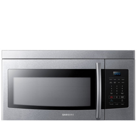 Samsung 1.6 Cubic Foot Over-the-Range Microwave