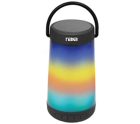 NAXA VIBE Series Bluetooth Speaker with LED Lights & Handle