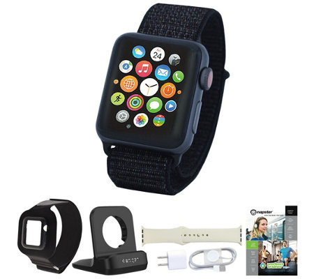 Apple Watch Series 3 Cellular 42mm Sport Loop & Accessories