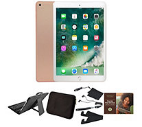 "Ships 12/15 Apple 2018 iPad 9.7"" 128GB w/ Keyboard and Accessories - E232760"