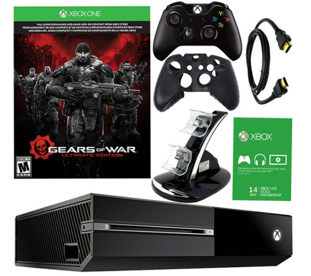 Xbox One 500GB Gears of War Bundle with Accessories
