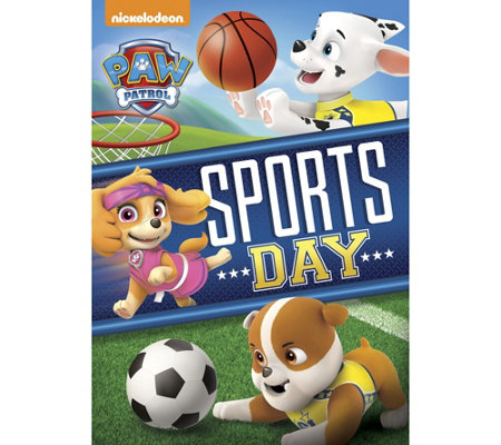 Paw Patrol Sports Day Dvd