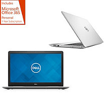 "All-New 2018 Dell 15"" Laptop AMD Quad Core 8GB RAM 1TB HDD w/ Office 365 - E232161"