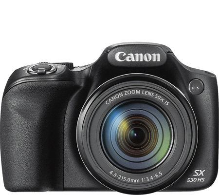 Canon Powershot Sx530 16mp Camera With Wi Fi 1080p Video