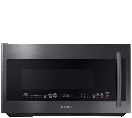 Samsung 2.1 Cubic Foot Over-The-Range PowerGrill Microwave