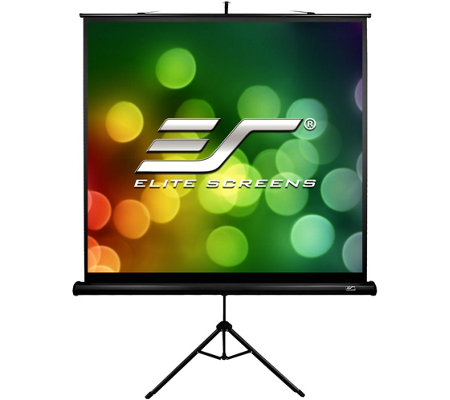 "Elite Screens 71"" Portable Tripod B Series Projection Screen"