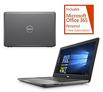 "Dell 15"" Laptop AMD 7th Gen A9 8GB RAM 1TB HDD w/ Tech Support & Office Option - E231863"