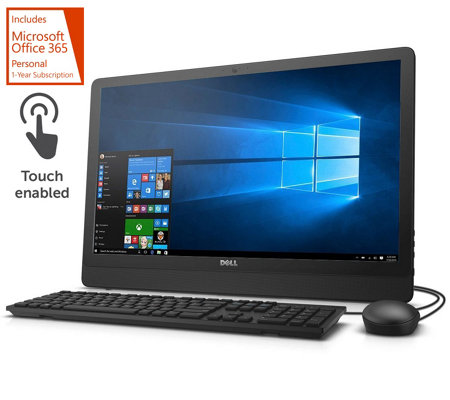 "Dell 24"" Touch All-in-One PC Intel Quad-Core 4GB RAM 1TB HDD w/ MS Office"