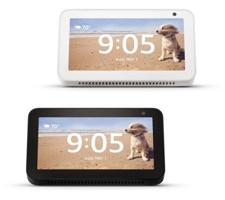 Ships 12/6 Amazon 2-pack Echo Show 5 w/ Smart Display and Alexa