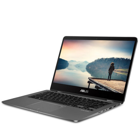 "ASUS 14"" ZenBook Touch Laptop - Core i5, 256GBSSD & Software"