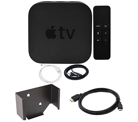 Apple TV 32GB with Wall Mount and HDMI Cable