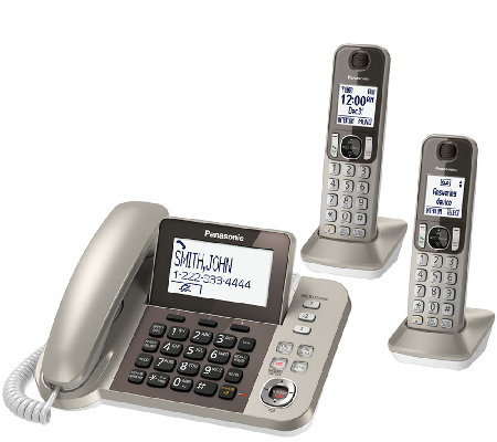 Panasonic Digital Phone & Answering System w/ 2Handsets