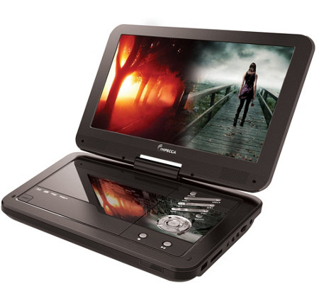 "Impecca 10.1"" Portable DVD Player and Media Player"