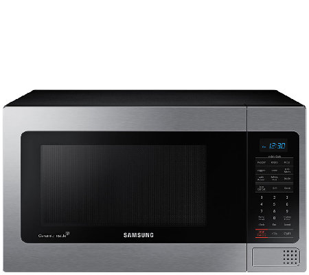 Samsung 1 1 Cubic Foot Stainless Steel Countertop Microwave