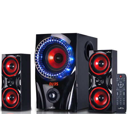 beFree Sound 99X 2.1-Channel Surround Sound Bluetooth Speaker